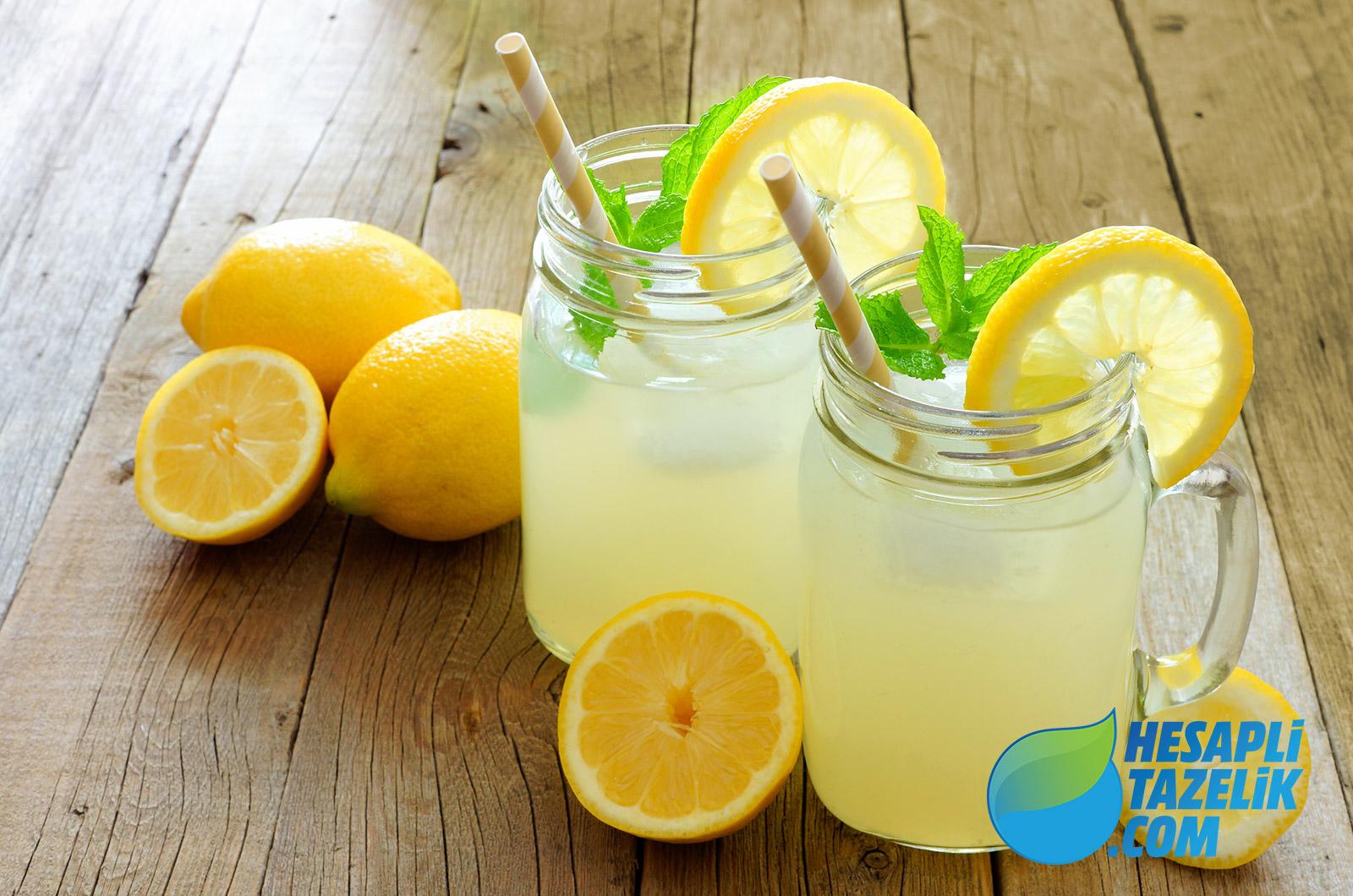 Çilekli Portakallı Limonata
